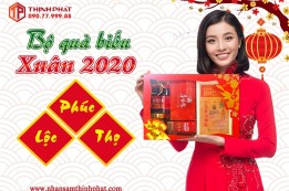 Hộp Quà Tết 2020: Phúc - Lộc - Thọ