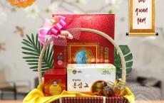 Combo quà biếu bánh trung thu yến sào Khánh Hòa 2020