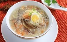 Cách làm món súp cua Yến Sào