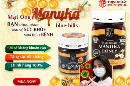 Mật ong Manuka -  Kháng sinh tự nhiên hiệu quả mùa dịch bệnh