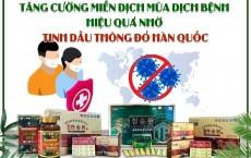 Tăng cường miễn dịch  hiệu quả nhờ tinh dầu thông đỏ Hàn Quốc