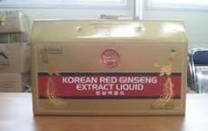 Tác dụng viên hồng sâm Hàn Quốc