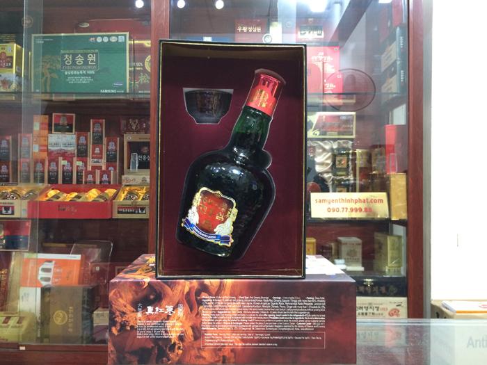 Nước Hồng Sâm 6 năm tuổi TAEWOONG Hàn Quốc chai 700ml