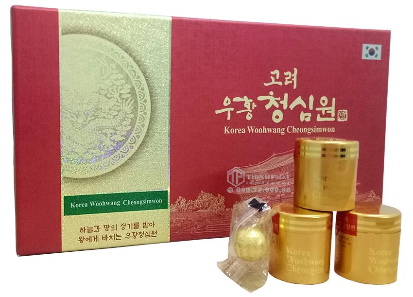 An cung ngưu hoàn Bio Apgold hộp 10 viên - Woohwang Cheongsimwon
