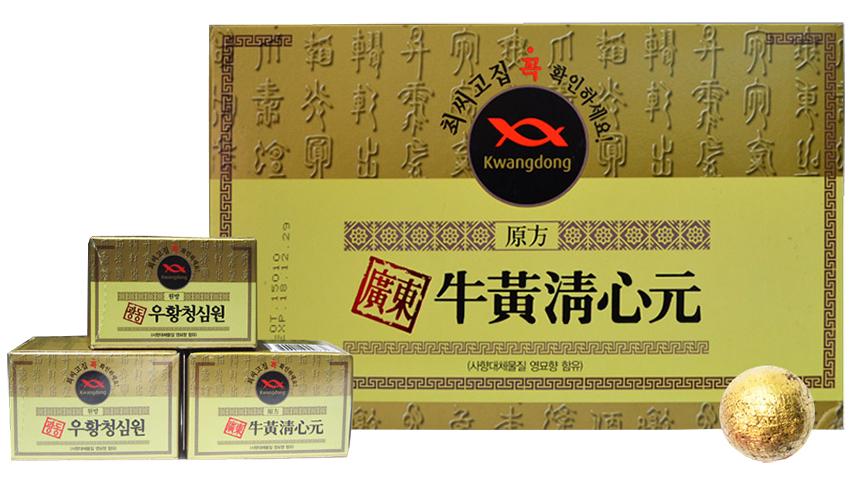 An cung ngưu Kwangdong Hàn Quốc hộp vàng chính hãng