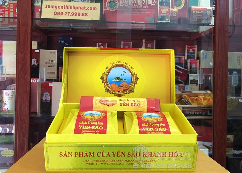 Bánh trung thu Yến Sào nhân mềm hộp 2 bánh x 120gr