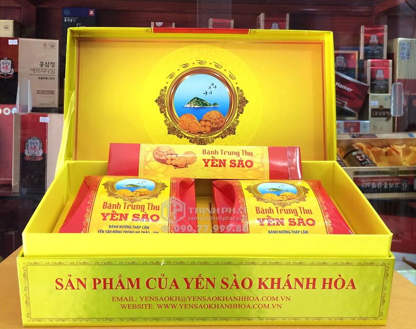 Bánh trung thu Yến Sào thập cẩm hộp 2 bánh x 120gr