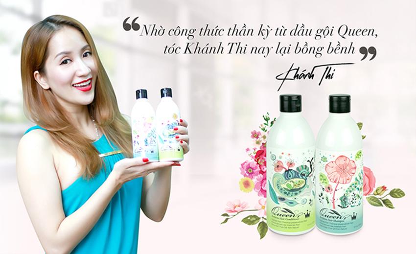 Queen Perfume - Bộ dầu gội trị rụng tóc từ nhân sâm Hàn Quốc
