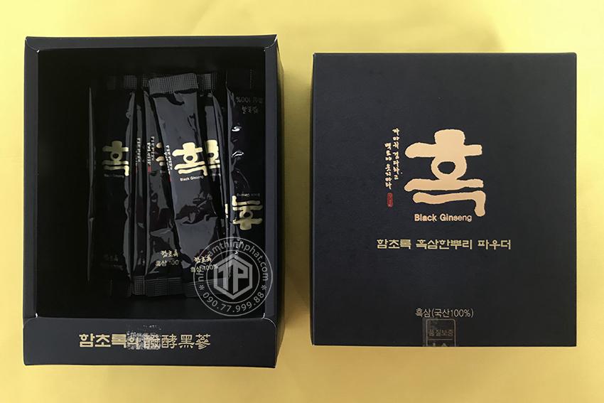 Bột hắc sâm Hàn Quốc cao cấp hộp lớn 90g