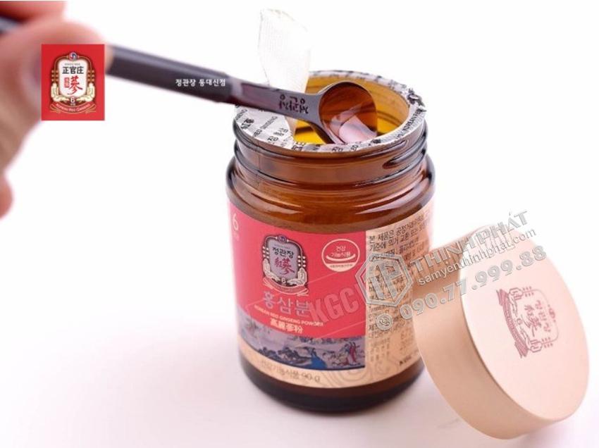 Bột hồng sâm Hàn Quốc KGC lọ 90g - Hồng sâm chính phủ