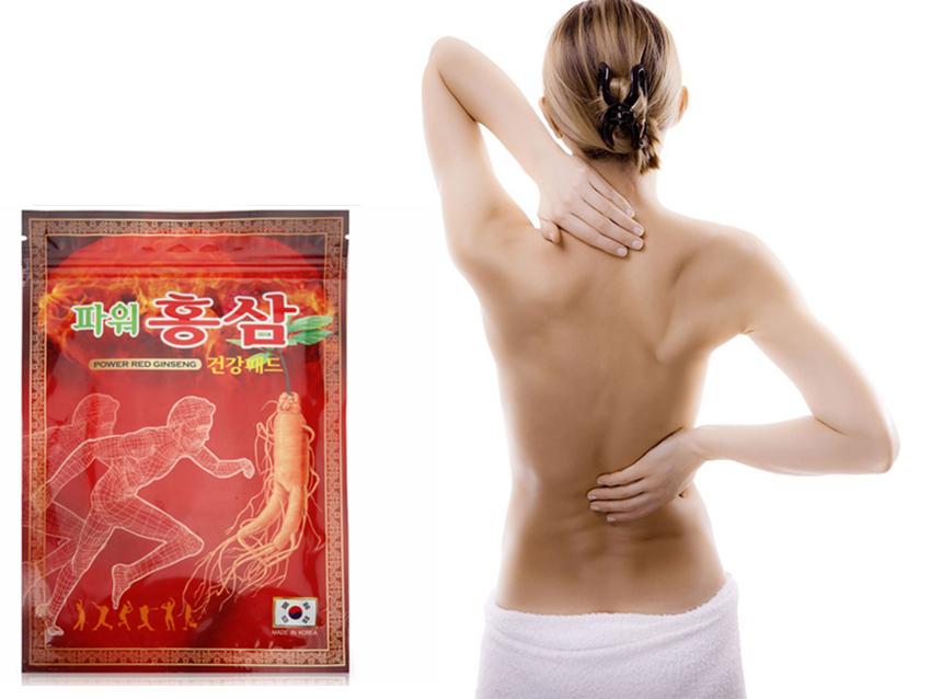 Cao dán hồng sâm Hàn Quốc chống nhức mỏi - Gói đỏ
