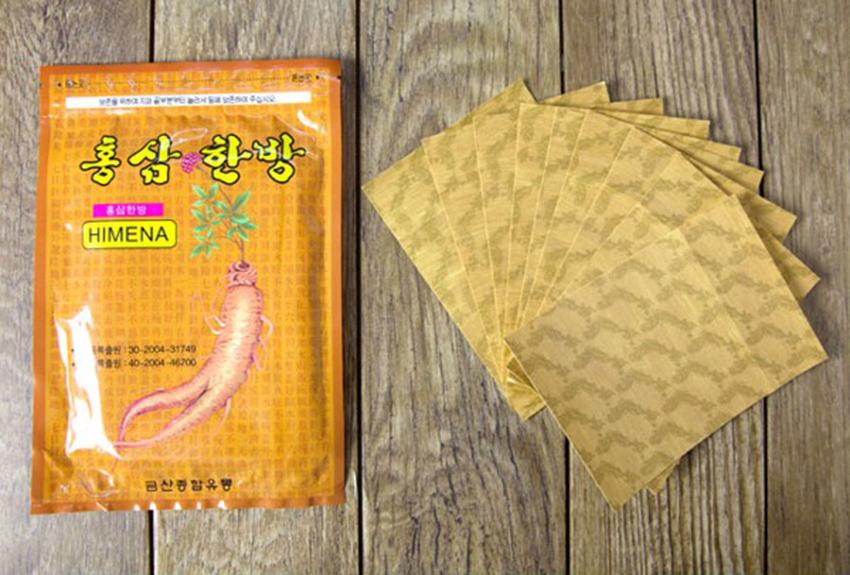 Cao dán hồng sâm Hàn Quốc chống nhức mỏi - Gói vàng