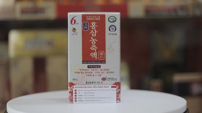 Cao hồng sâm Hàn Quốc ánh bạc hãng KGS 240g