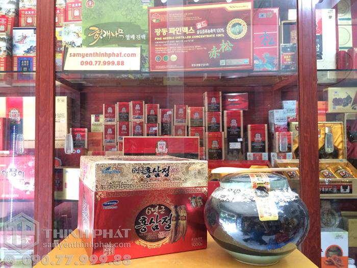 Cao hồng sâm Kanghwa Hàn Quốc hủ 1 kg