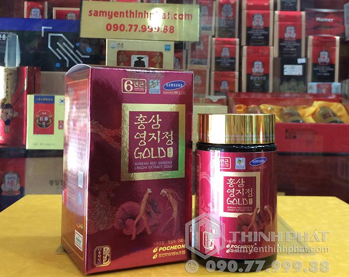 Cao hồng sâm linh chi Pocheon Hàn Quốc