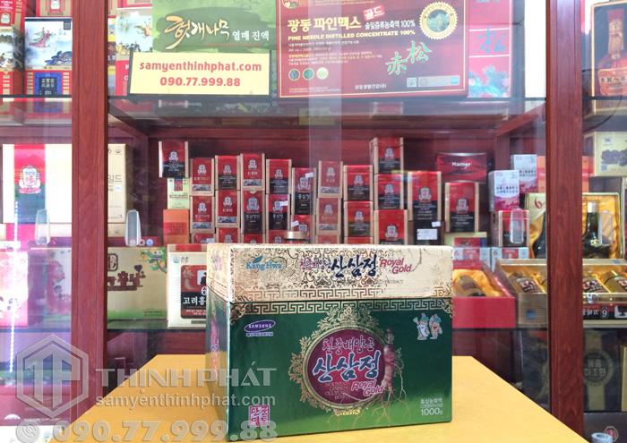 Cao hồng sâm núi Hàn Quốc 1 kg