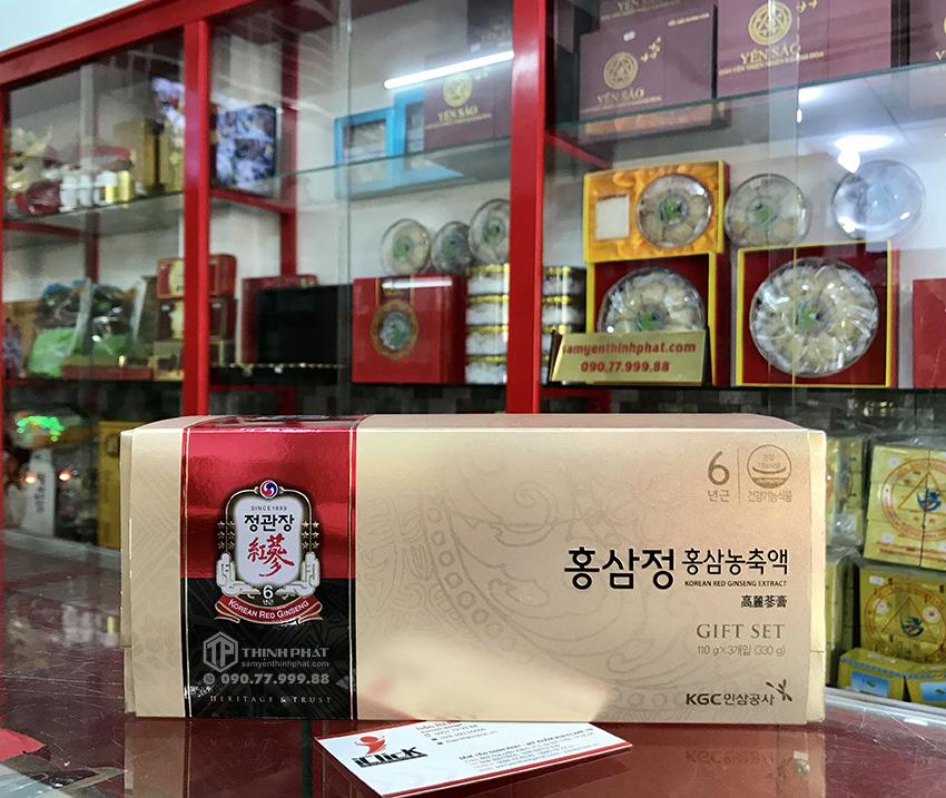 Cao tinh chất hồng sâm 6 năm tuổi 100% KGC hộp quà tặng 3 lọ x 110g - Cheong Kwan Jang