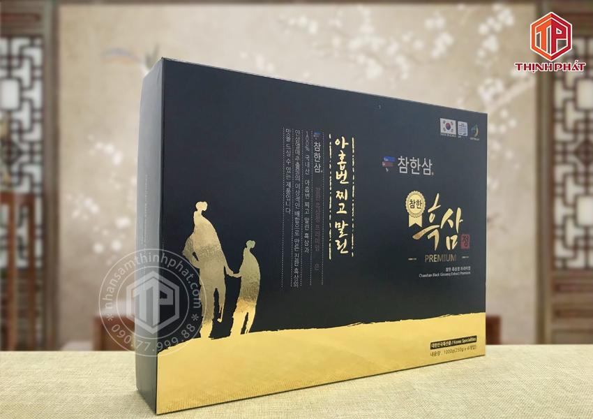 Cao hắc sâm Hàn Quốc cao cấp Chamhan hộp 4 lọ x 250g