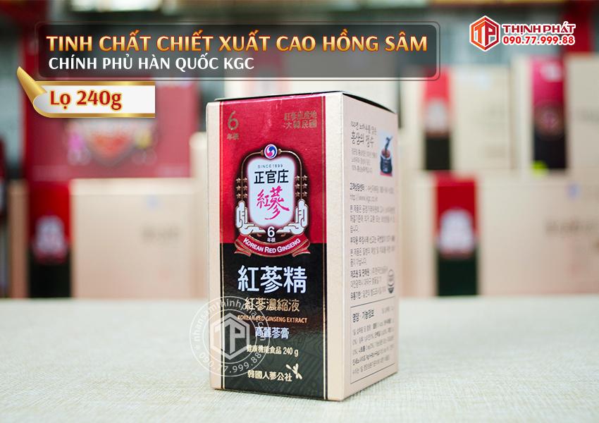 Tinh chất chiết xuất cao hồng sâm Chính phủ Hàn Quốc KGC Cheong Kwan Jang plus 240g