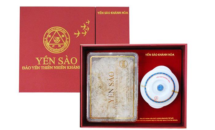 Tổ Yến Sào Khánh Hòa yến đảo hộp quà tặng 50g - 015G
