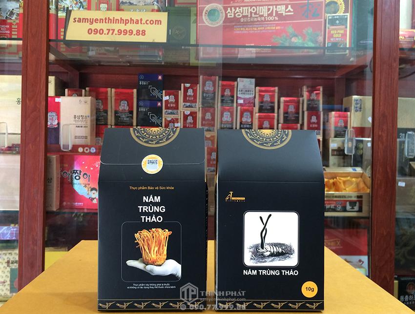 Đông trùng hạ thảo sợi khô Việt Nam 10g