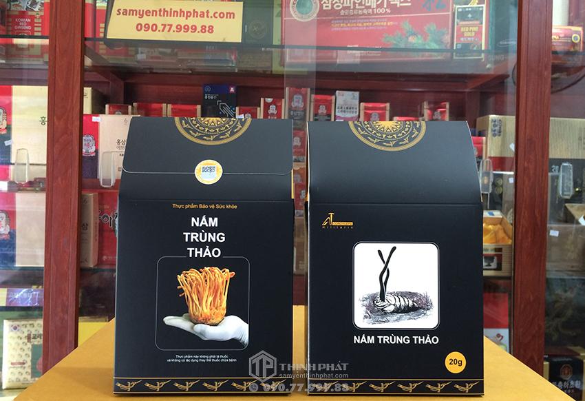 Đông trùng hạ thảo sợi khô Việt Nam 20g
