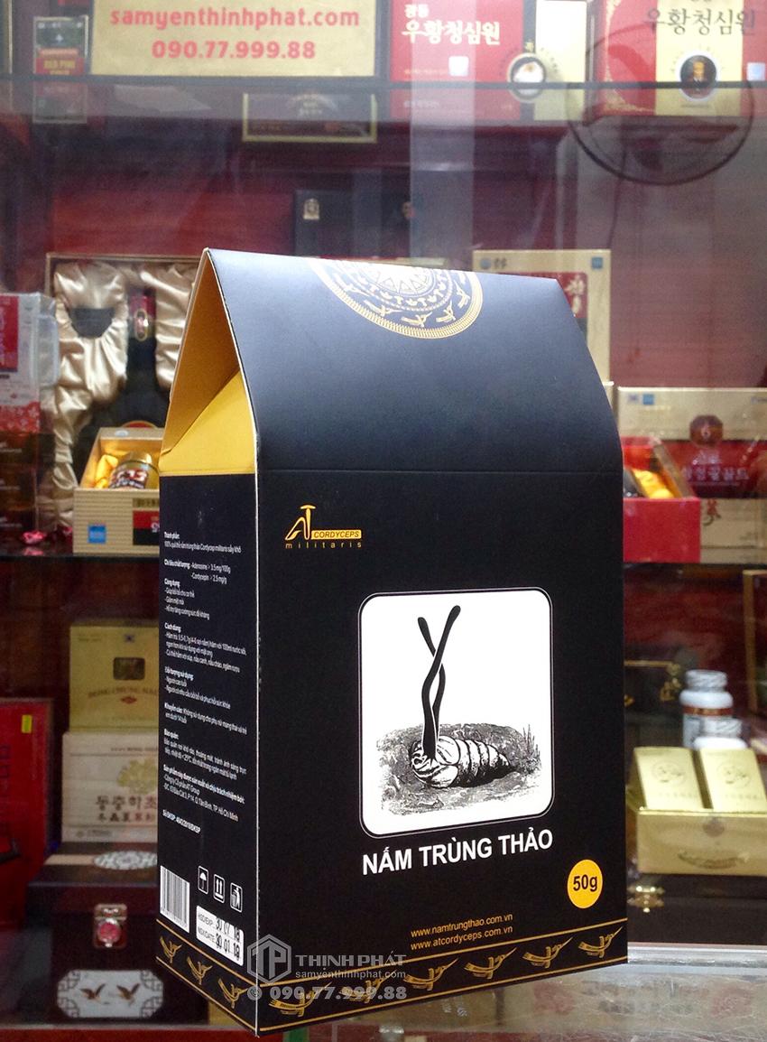 Đông trùng hạ thảo sợi khô Việt Nam 50g