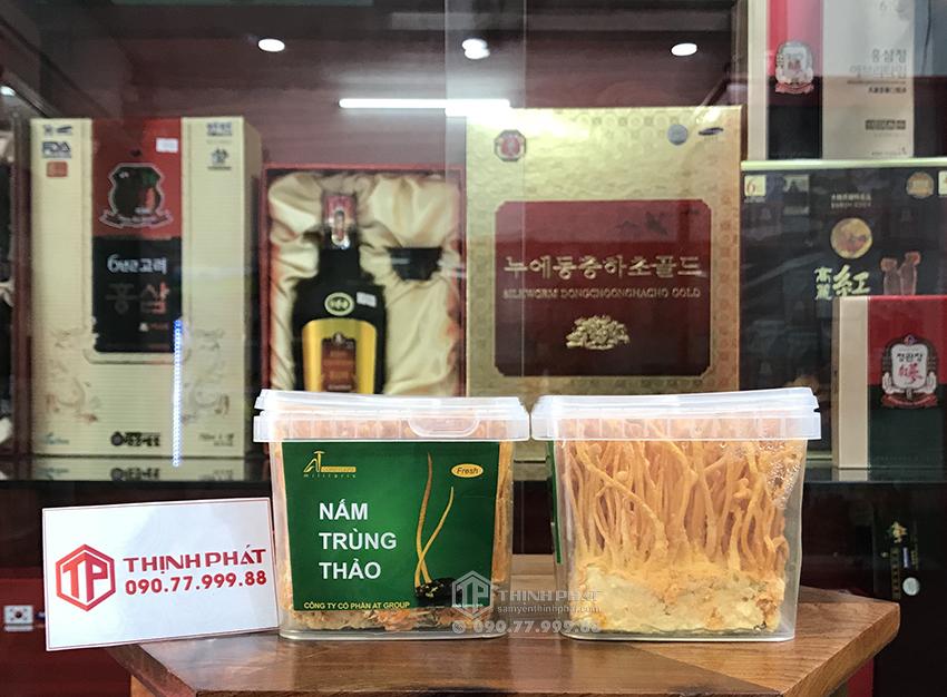 Đông trùng hạ thảo tươi Việt Nam nguyên chất