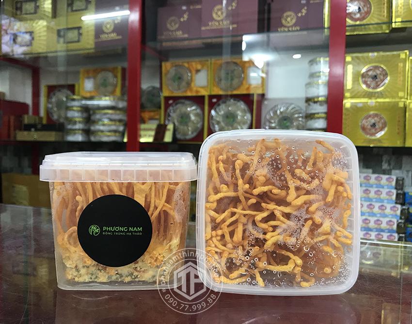 Đông trùng hạ thảo tươi Việt Nam lọ 105g