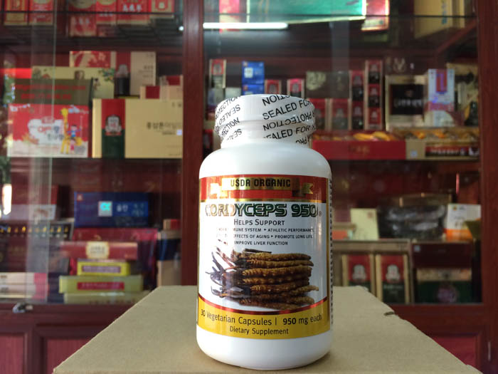 Đông trùng hạ thảo Cordyceps 950 của Mỹ hộp 30 viên