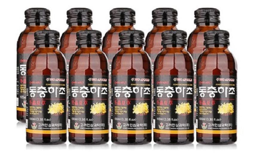 Nước đông trùng hạ thảo BioApGold hộp 10 chai