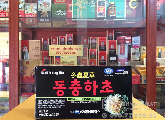Nước đông trùng hạ thảo Hàn Quốc