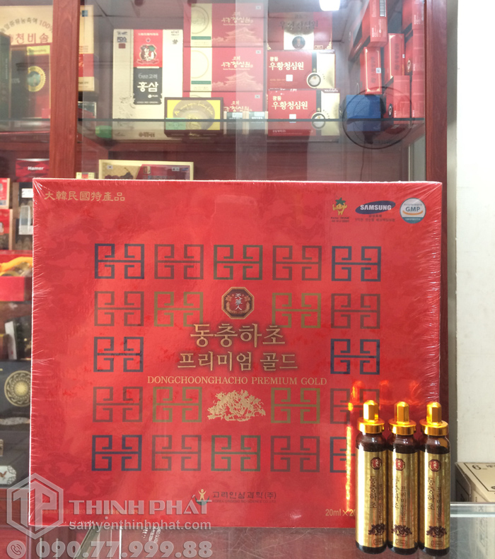 Nước đông trùng hạ thảo Hàn Quốc hộp 20 ống