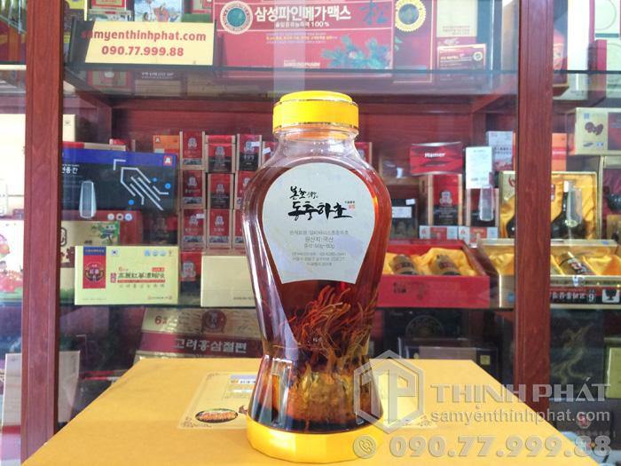 Rượu đông trùng hạ thảo Hàn Quốc