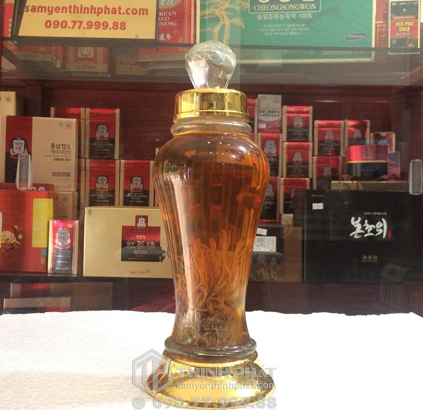 Rượu đông trùng hạ thảo Hàn Quốc chai 500ml