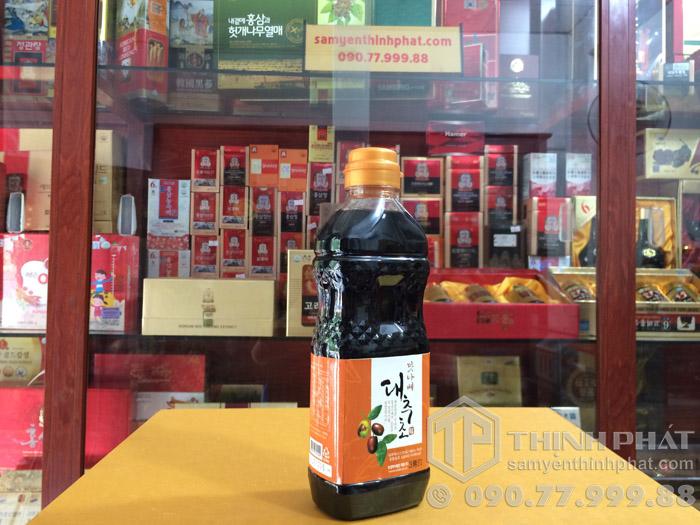 Giấm táo giảm cân_táo đỏ Hàn Quốc chai 500ml