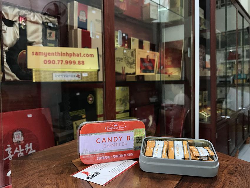Kẹo Candy B+ Complex 12 viên
