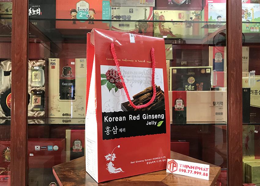 Kẹo hồng sâm dẻo Hàn Quốc hộp 300g