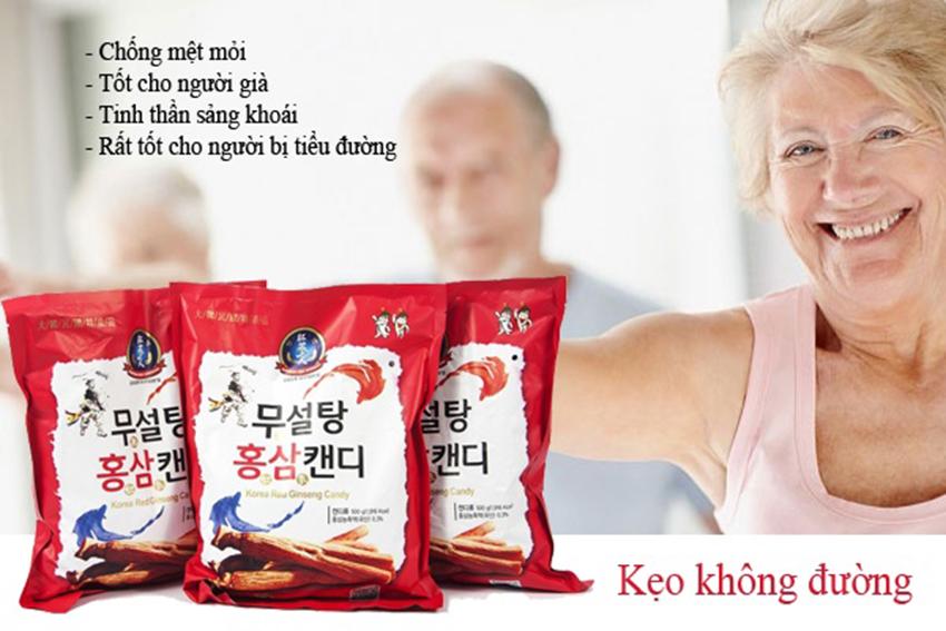 Kẹo hồng sâm Hàn Quốc không đường 365 500g