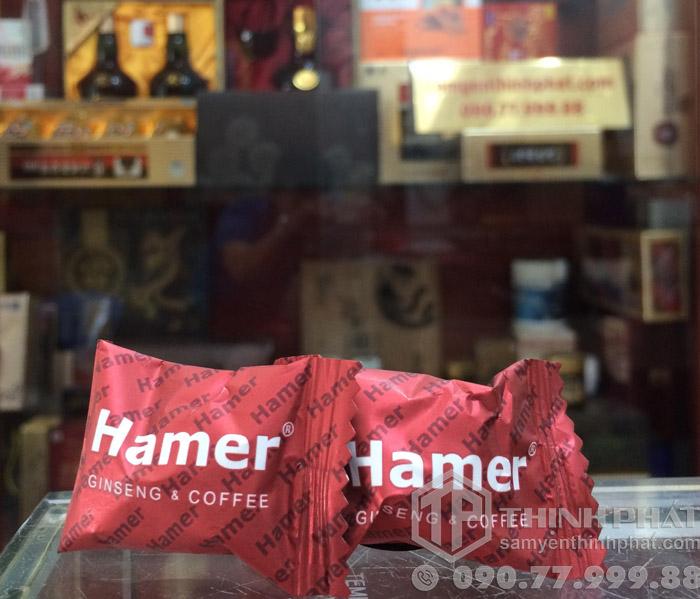 Kẹo sâm Hamer của Mỹ tăng cường sinh lực cho nam giới 1 viên