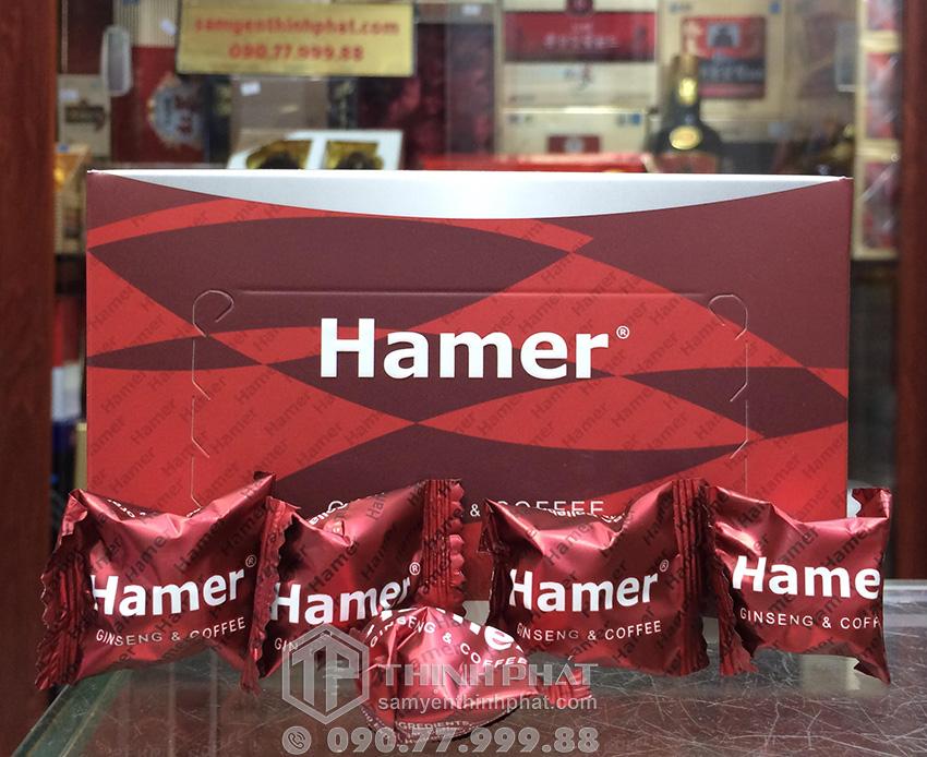 Kẹo sâm Hamer của Mỹ tăng cường sinh lực cho nam giới 5 viên