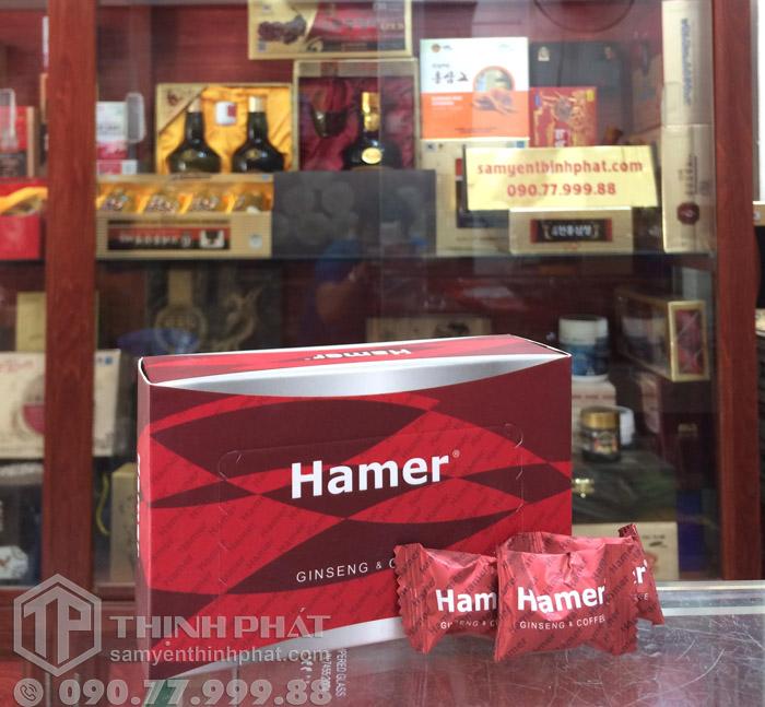 Kẹo sâm Hamer của Mỹ tăng cường sinh lực nam giới hiệu quả, hộp 30 viên