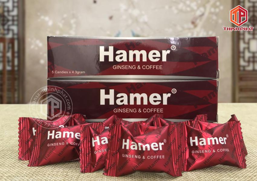 Kẹo sâm Hamer chính hãng của Mỹ hỗ trợ tăng sức khỏe cho nam giới 10 viên lẻ