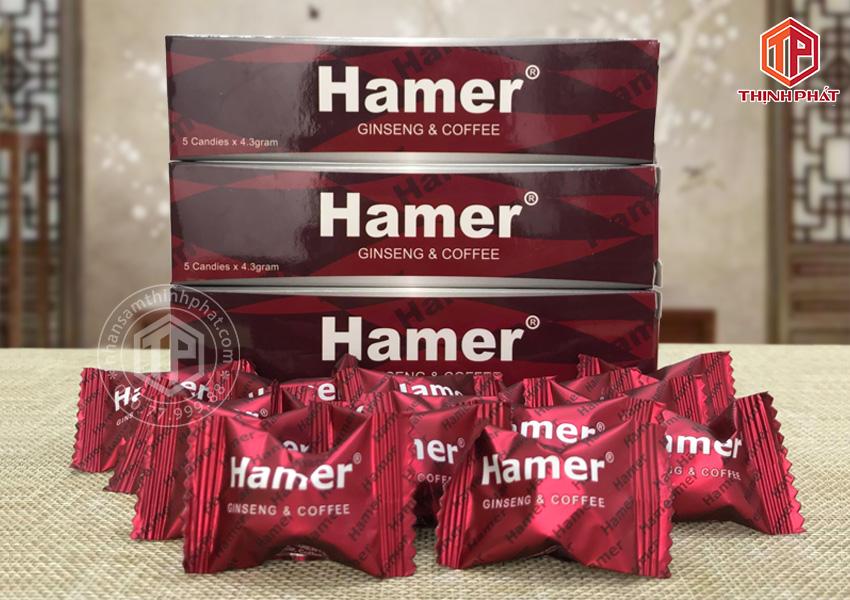Kẹo sâm Hamer chính hãng của Mỹ hỗ trợ tăng sức khỏe cho nam giới nữa hộp 15 viên