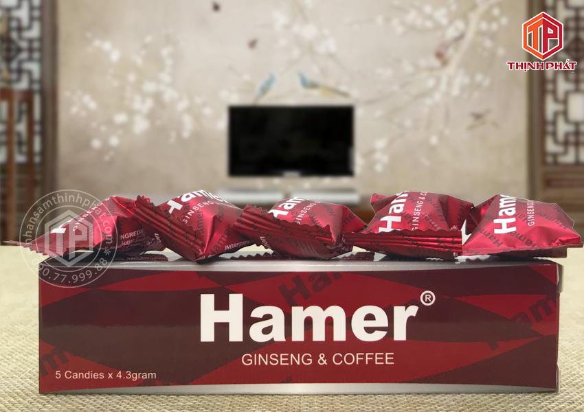 Kẹo sâm Hamer Chính hãng của Mỹ hỗ trợ tăng sức khỏe nam giới 5 viên