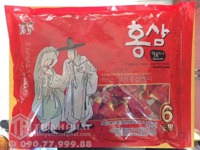Kẹo sâm Hàn Quốc hiệu Ông Bà Lão 800g