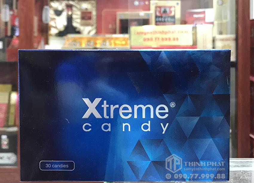 Kẹo sâm Xtreme candy dành cho nam giới, thế hệ sau của kẹo sâm Hamer, hộp 30 viên