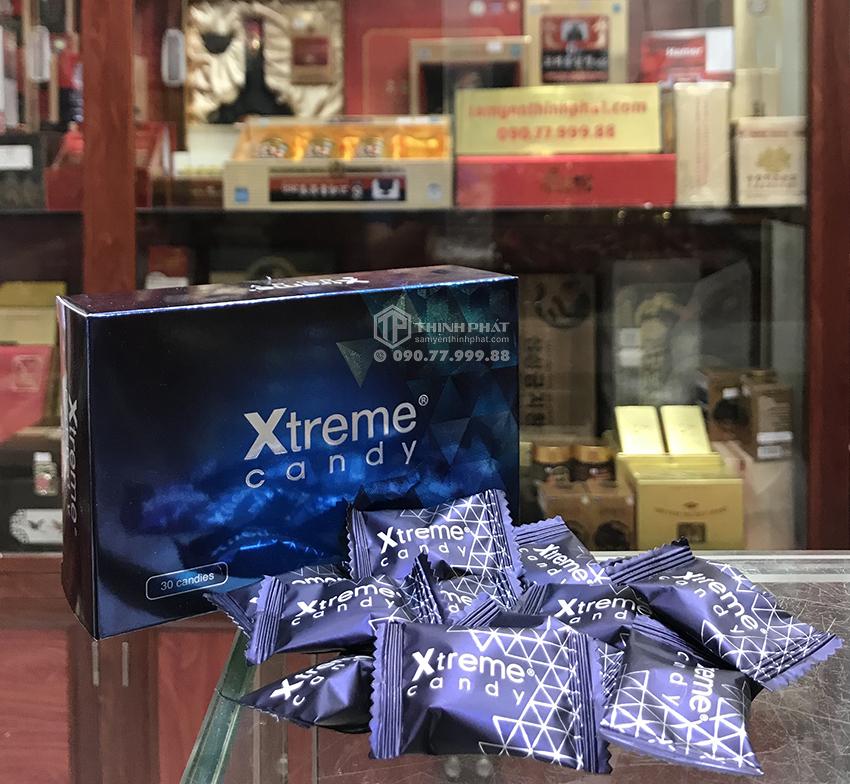 Kẹo sâm Xtreme candy dành cho nam giới, thế hệ sau của kẹo sâm Hamer, bán lẻ 10 viên