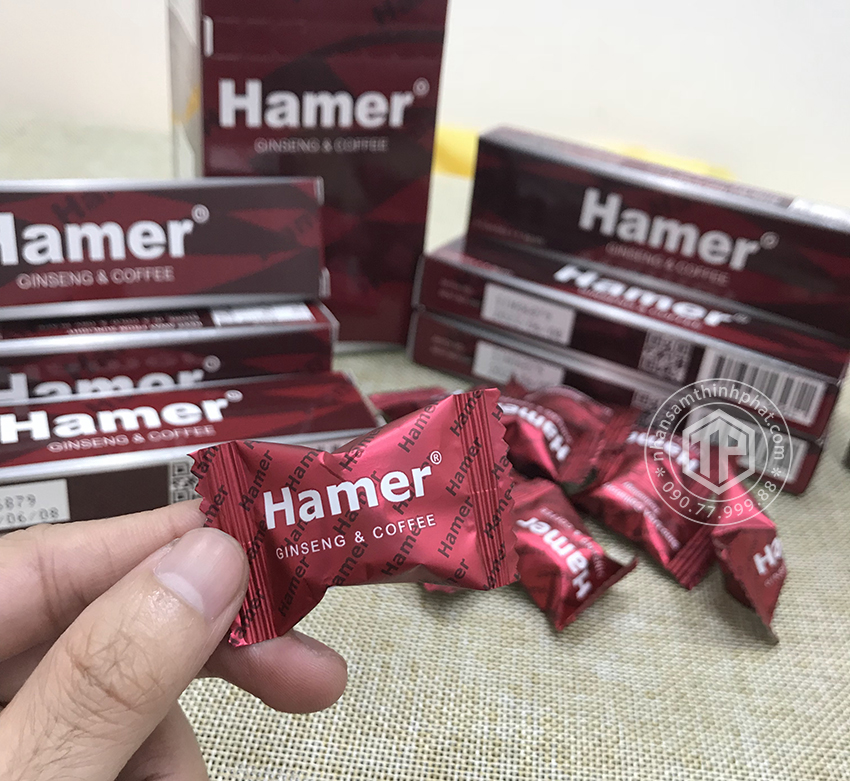 Kẹo sâm Hamer chính hãng của Mỹ hỗ trợ tăng sức khỏe cho nam giới hộp 40 viên
