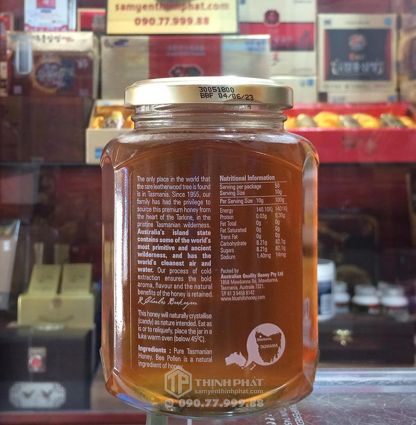 Mật ong Leatherwood lọ 500g